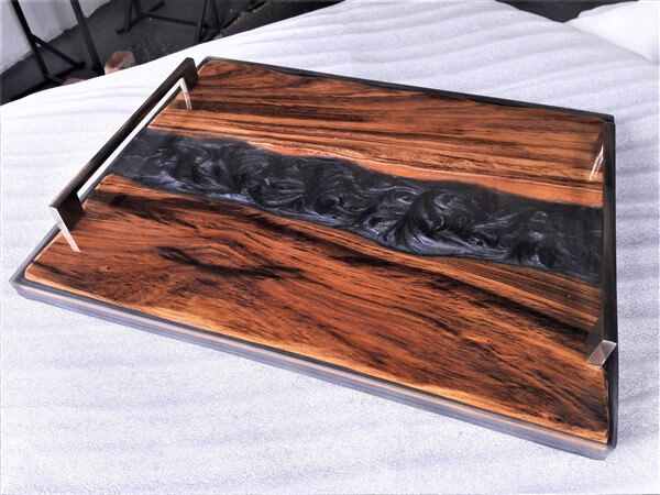 epoxy resin serving tray image