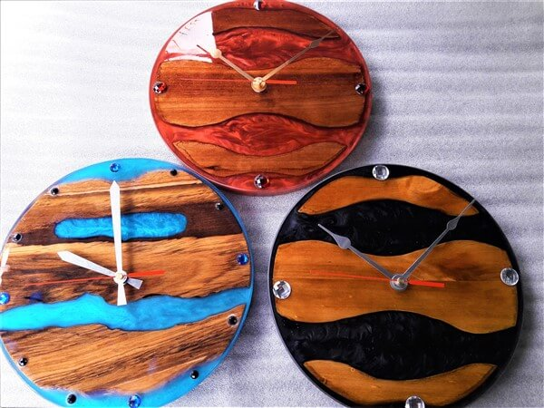 epoxy resin clocks image