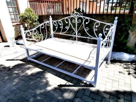 Karen Steel Metal Iron Day Bed Image Manufactured By